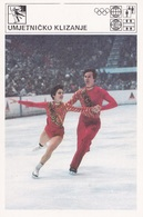 ICE SKATING CARD-SVIJET SPORTA (B415) - Olympic Games