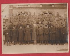 Photo Groupe De Soldats Du 29 Rgt ? - Army & War