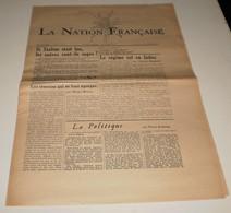 La Nation Française Du 21 Mars 1956. (Poujade Vu Par Les Américains) - Magazines & Papers