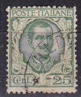 Regno D'Italia, 1926 - 25c Floreale - Nr.200 Usato° - Usati