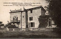 LUSSAC DE LIBOURNE  CHATEAU LA TOUR SEGUR - Libourne