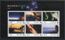 New Zealand 2008 Set Of Stamps Celebrating The Maori New Year Mini Sheet. - Blocks & Sheetlets