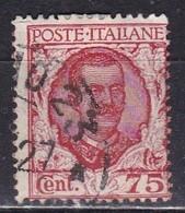 Regno D'Italia, 1926 - 75c Floreale - Nr.201 Usato° - Usati