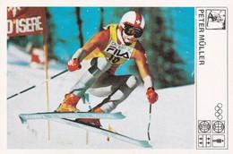 PETER MULLER CARD-SVIJET SPORTA (B425) - Sport Invernali