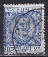 Regno D'Italia, 1926 - 1,25 Lire Floreale - Nr.202 Usato° - Usati