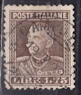 Regno D'Italia, 1927 - 1,75 Lire Vittorio Emanuele III° - Nr.214 Usato° - Usati