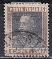 Regno D'Italia, 1927 - 50c Vittorio Emanuele III° - Nr.218 Usato° - 1900-44 Vittorio Emanuele III