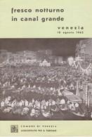 Venezia, Venise Brochure Voire Les Scans. - Publicités