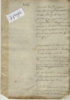 VP14.177 - TANINGES An 4 - Inventaire Des Titres , Papiers Et Autres Objets .......commune De TANINGES - Manuscripts