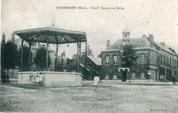 WALINCOURT --Place , Kiosque  Et Mairie - Altri Comuni