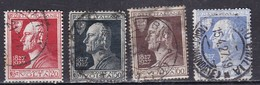 Regno D'Italia, 1927 - Alessandro Volta - Nr.210/213  Usato° - Usati