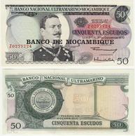 Mozambique 50 Escudos 1970 UNC Replacement - Mozambique