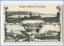 XX004364/ Talsperre Darre Isergebirge AK 1916 Tschechien  - Boehmen Und Maehren