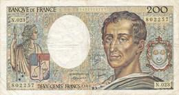 Billet De La Banque De FRANCE  200 Francs 1984 - 1962-1997 ''Francs''