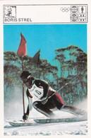 BORIS STREL CARD-SVIJET SPORTA (B436) - Winter Sports