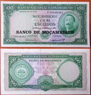 Mozambique 100 Escudos 1976 UNC- - Mozambique
