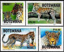 Botswana - 2017 - Leopard In Botswana - Mint Stamp Set - Botswana (1966-...)