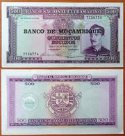 Mozambique 500 Escudos 1976 AUNC - Mozambique