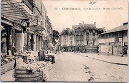 86 CHATELLERAULT - La Place Du Marché, Maison SCHROCK - Chatellerault