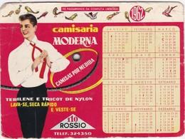 PORTUGAL  - CAMISARIA MODERNA - ROSSIO - LISBOA - CALENDAR POCKET 1962 - Calendriers