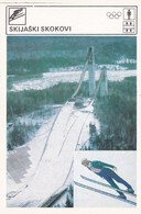 SKI JUMPING CARD-SVIJET SPORTA (B442) - Sport Invernali