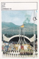 WINTER OLYMPIC GAMES CARD-SVIJET SPORTA (B443) - Giochi Olimpici