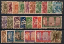Algérie - 1926 - N°Yv. 34 à 57 - Série Complète - Neuf Luxe ** / MNH / Postfrisch - Algérie (1924-1962)