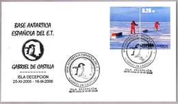 BASE ANTARTICA ESPAÑOLA GABRIEL DE CASTILLA - Spanish Antartic Base. 2005-2006 - Estaciones Científicas