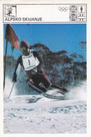 APLS SKIING CARD-SVIJET SPORTA (B446) - Winter Sports