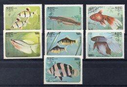 KAMPUCHEA  Timbres Neufs ** De 1985  ( Ref 5962 ) Animaux - Poissons - Kampuchea