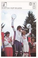 SKI WORLD CUP CARD-SVIJET SPORTA (B449) - Winter Sports