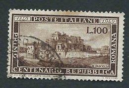 Italia 1949; Repubblica Romana. - 1946-.. République