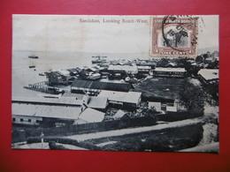 BRITISH NORTH BORNEO SANDAKAN LOOKING SOUTH WEST TIMBRE BRITISH PROTECTORATE - Malaysia