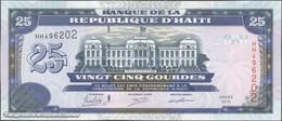 TWN - HAITI 266f - 25 Gourdes 2015 Prefix HH UNC - Haïti