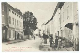 CPA Loriol Quartier Du Bourg Commerces - Autres Communes