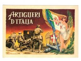 ASSOCIAZIONE ARTIGLIERI DI TORINO -65° ANNIV. DISEGNO DI ALDO BROVARONE - (TO) - - Collections & Lots