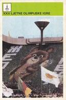 XXII OLYMPIC GAMES CARD-SVIJET SPORTA (B453) - Cartoline