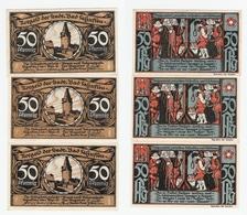 Bad Salzuflen  3 Mal 50 Pfennig 1921 - [11] Local Banknote Issues