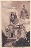 CARTOLINA - POSTCARD - VICENZA - SANTUARIO DI MONTE BERICO - VIAGGIATA PER TRIESTE - Vicenza