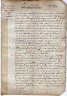 VP14.178 - TANINGES An 6 - Procés Verbal Concernant Les Registres & Titres Du Canton De TANINGES - Manuscripts