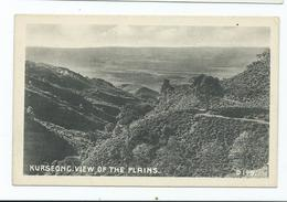 India Postcard Kurseong . View Of The Plains . Marcoplo Calcutta - India
