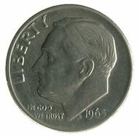 1965 - United States 1 Dime - KM# 195a -VF - Emissioni Federali