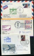 Weltweit / Lot Mit 8 Erstflugbelegen (5/045-50) - Briefmarken