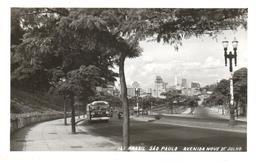 POSTAL   SAO PAULO  -BRASIL  -AVENIDA NUEVE DE JULIO - São Paulo