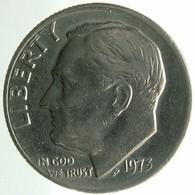 1973 - United States 1 Dime - KM# 195a -VF - Emissioni Federali
