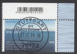 Bund - Neuheiten 2018 Mi. 3375 - Rundgestempelt - BRD