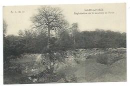95 - SAINT-LEU-LA-FORET - Exploitation De La Meulière En Forêt - CPA - Saint Leu La Foret