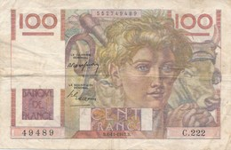 Billet De La Banque De FRANCE 100 Francs  1947 - 1871-1952 Anciens Francs Circulés Au XXème