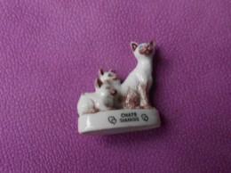 Fève 2001 A Bon Chat Bon Roi Les Chats Siamois (T 679) - Animales