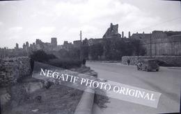 SAINT-MALO 35 Ile Et Vilaine Citroen Traction Bombardement 1944 NEGATIF PHOTO Cliché Amateur - Orte